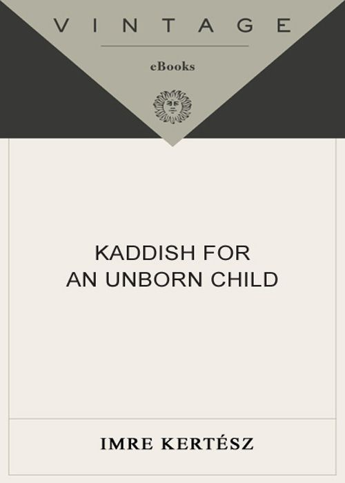 обложка книги Kaddish for an Unborn Child