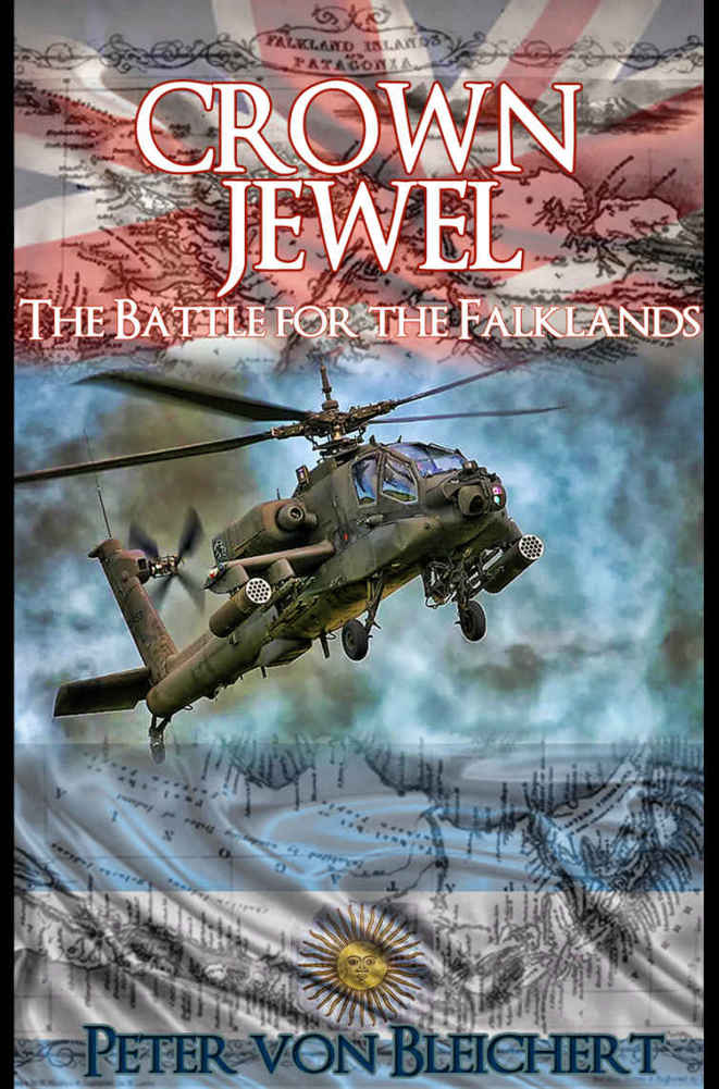 обложка книги Crown Jewel: The Battle for the Falklands