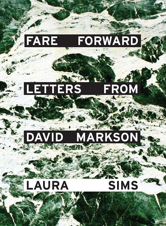 обложка книги Fare Forward: Letters from David Markson