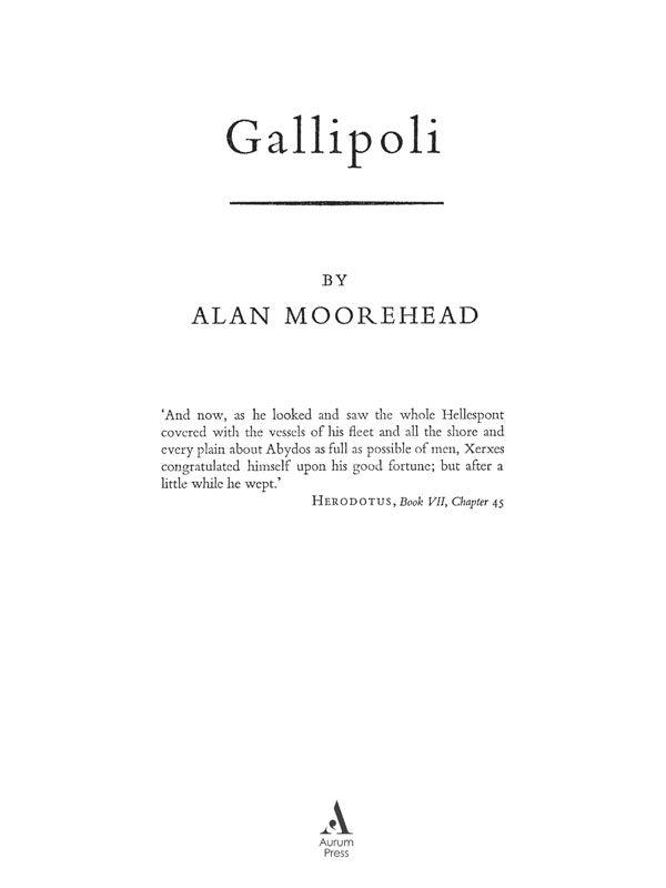Изображение к книге Gallipoli