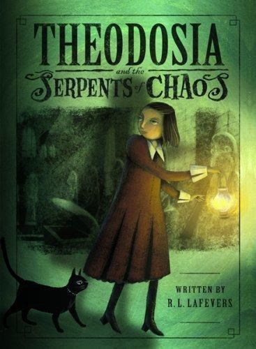 обложка книги Theodosia and the Serpents of Chaos