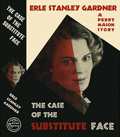обложка книги The Case of the Substitute Face