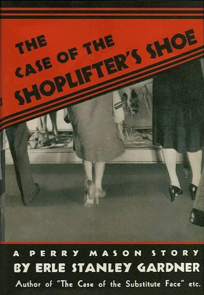 обложка книги The Case of the Shoplifter's Shoe
