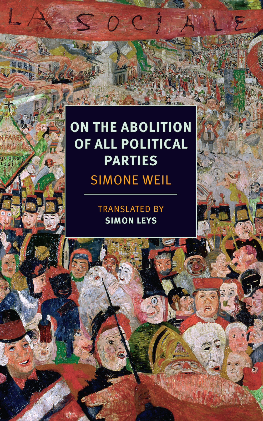 обложка книги On the Abolition of All Political Parties