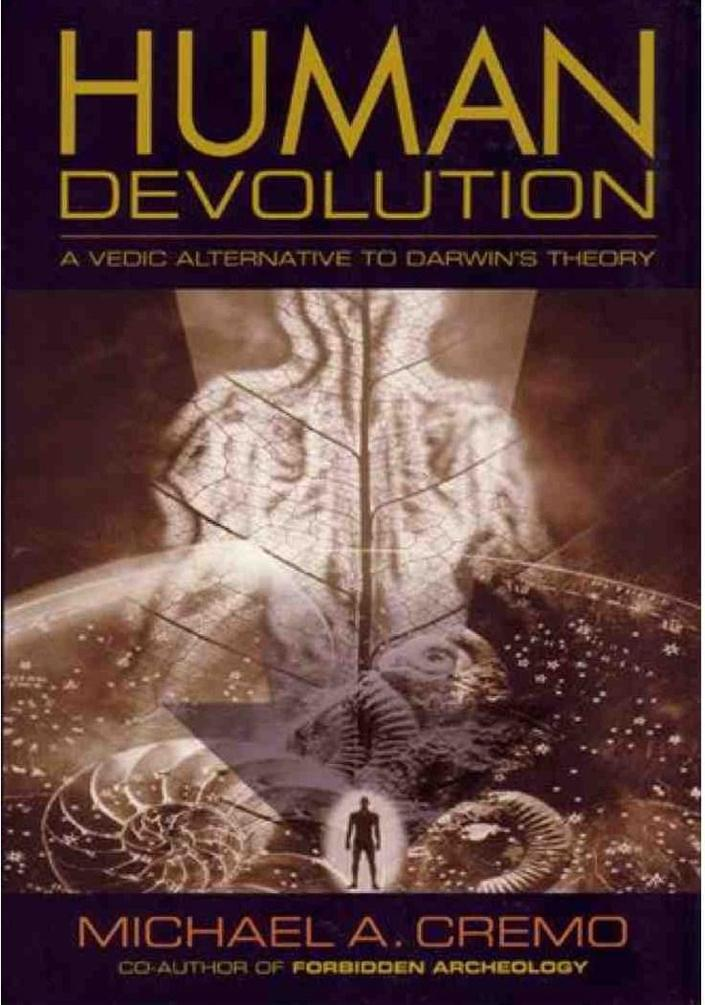 обложка книги Human Devolution: A Vedic Alternative To Darwin's Theory