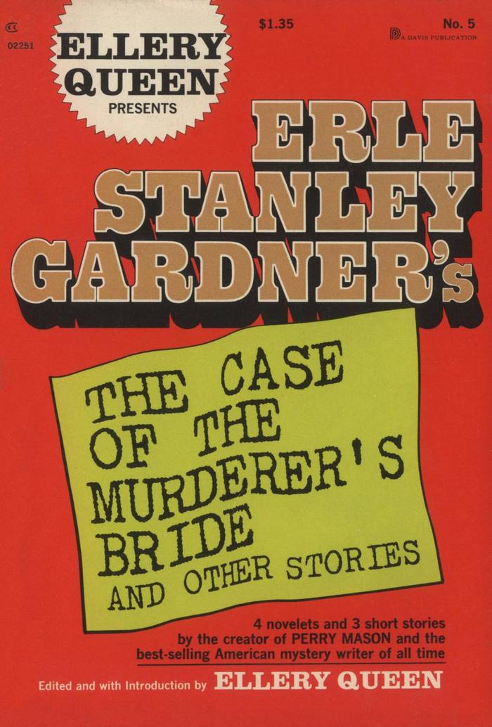 обложка книги Erle Stanley Gardner's The Case of the Murderer's Bride and Other Stories