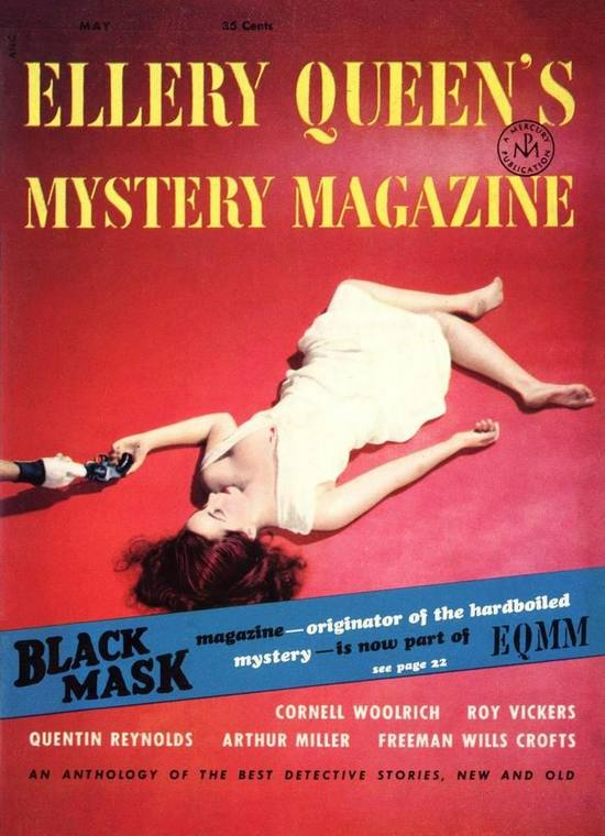 обложка книги Ellery Queen's Mystery Magazine, Vol. 21, No. 114, May 1953
