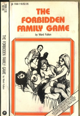 обложка книги The Forbidden Family Game