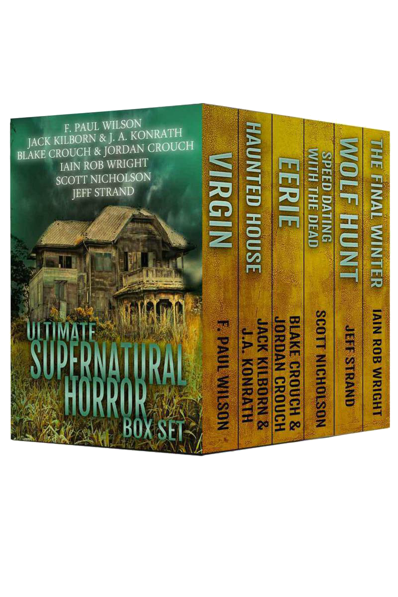 обложка книги Ultimate Supernatural Horror Box Set