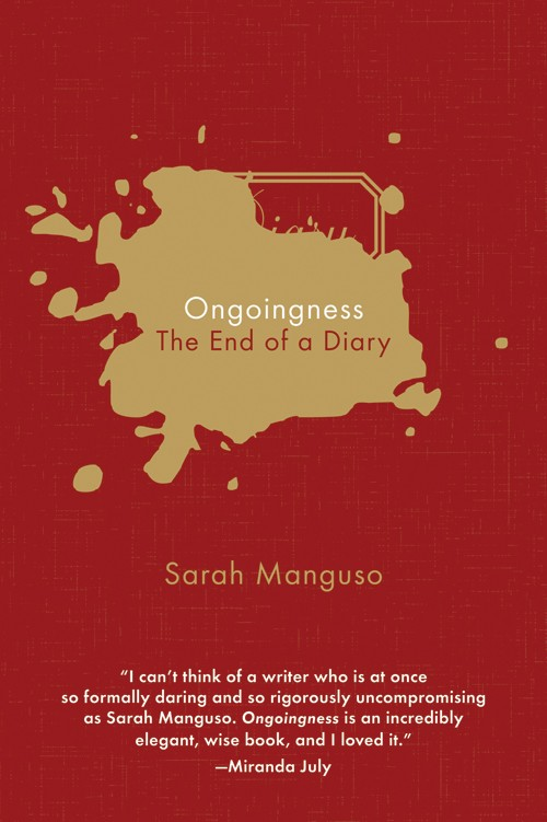 обложка книги Ongoingness: The End of a Diary
