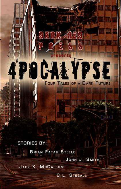 обложка книги 4POCALYPSE - Four Tales of a Dark Future