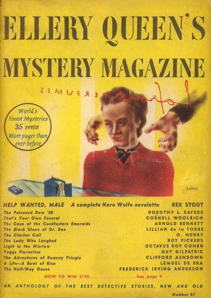 обложка книги Ellery Queen's Mystery Magazine, Vol. 11, No. 51, February 1948