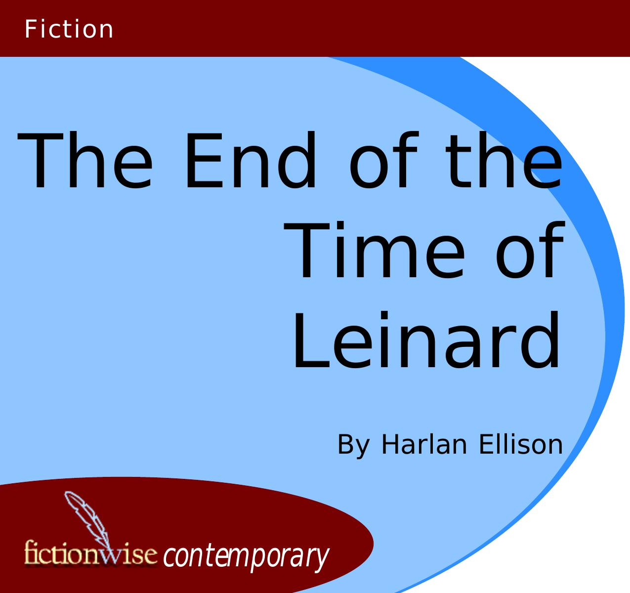 обложка книги The End of the Time of Leinard