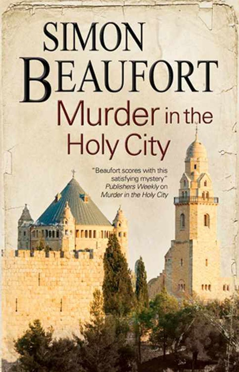 обложка книги Murder in the Holy City
