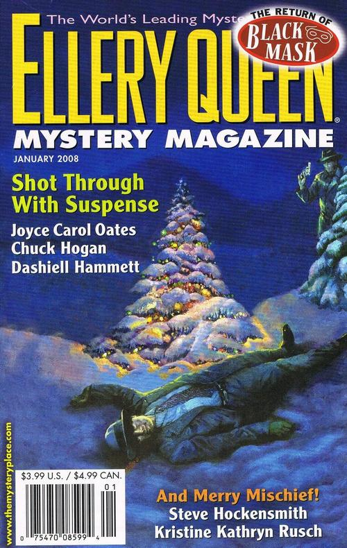 обложка книги Ellery Queen's Mystery Magazine. Vol. 131, No. 1. Whole No. 797, January 2008