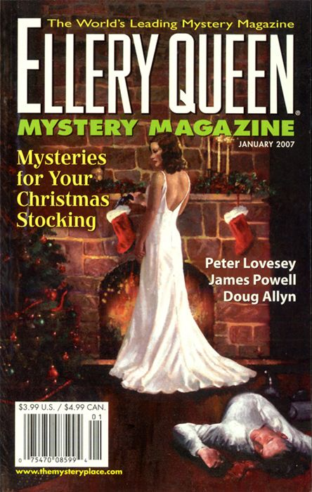 обложка книги Ellery Queen's Mystery Magazine. Vol. 129, No. 1. Whole No. 785, January 2007