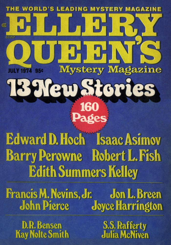 обложка книги Ellery Queen's Mystery Magazine, Vol. 64, No. 1. Whole No. 368, July 1974