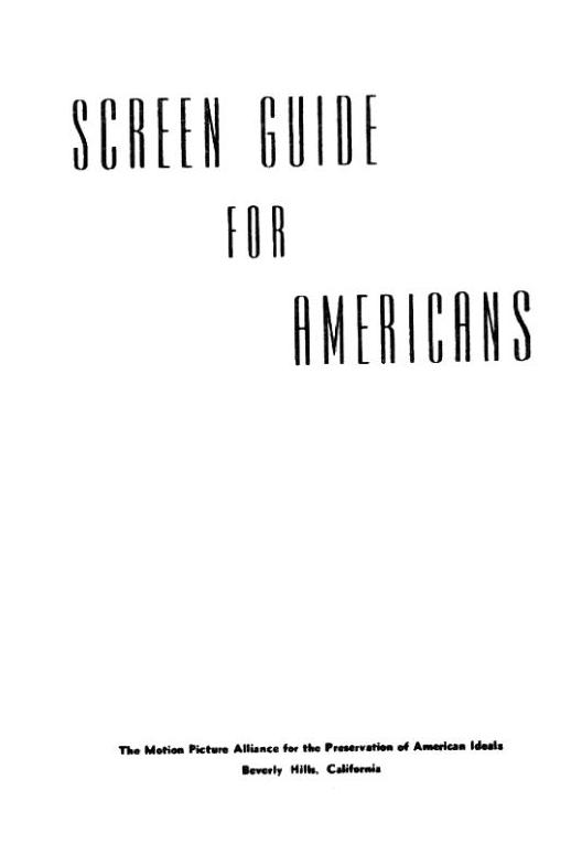обложка книги Screen Guide for Americans