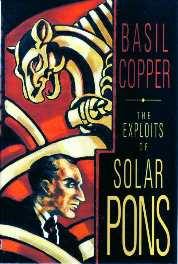 обложка книги The Exploits of Solar Pons