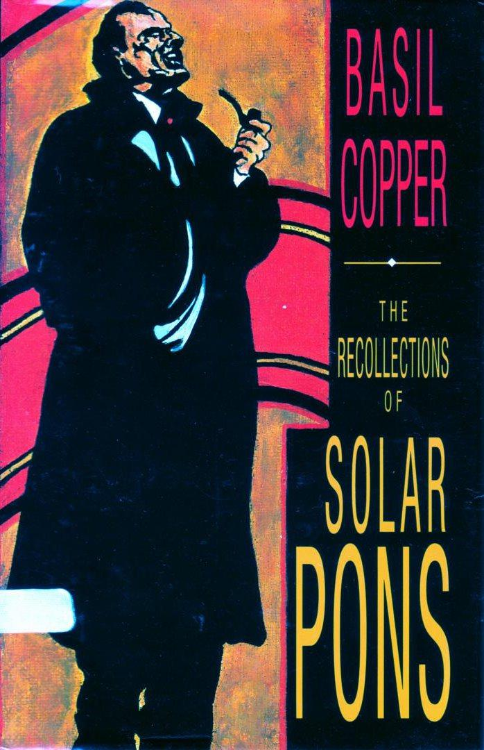 обложка книги The Recollections of Solar Pons