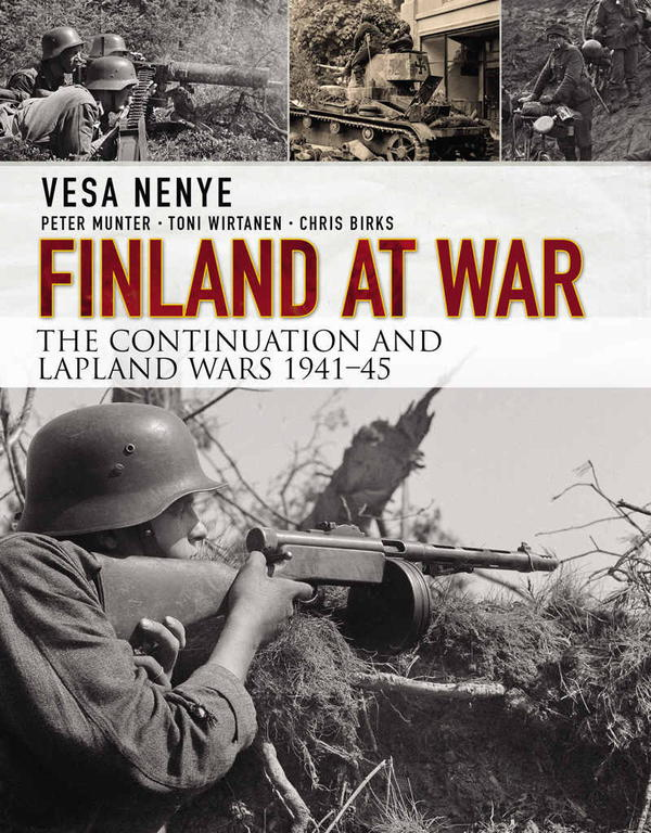 обложка книги Finland at War: The Continuation and Lapland Wars 1941-45