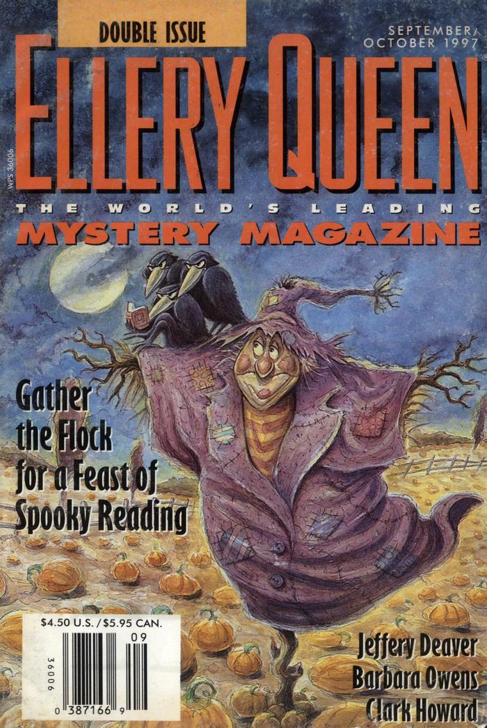 обложка книги Ellery Queen's Mystery Magazine, Vol. 110, No. 3 & 4. Whole No. 673 & 674, September/October 1997