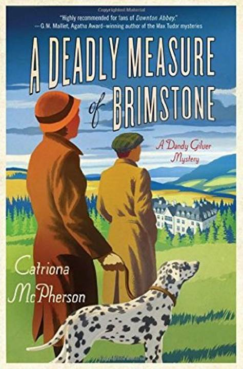 обложка книги Deadly Measure of Brimstone