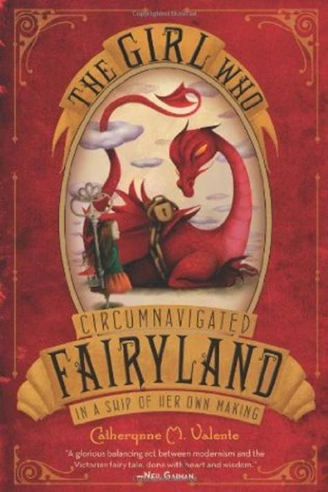 обложка книги The Girl who Circumnavigated Fairyland in a Ship of her own Making