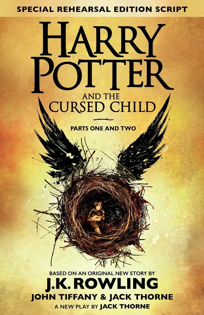 обложка книги Harry Potter and the Cursed Child