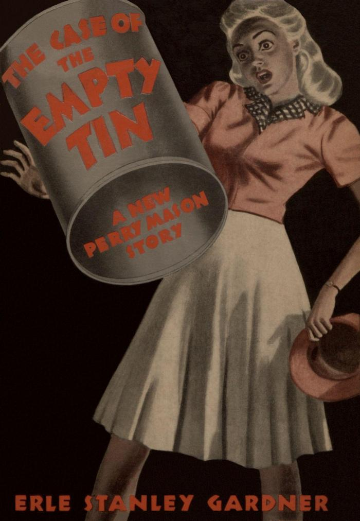 обложка книги The Case of the Empty Tin