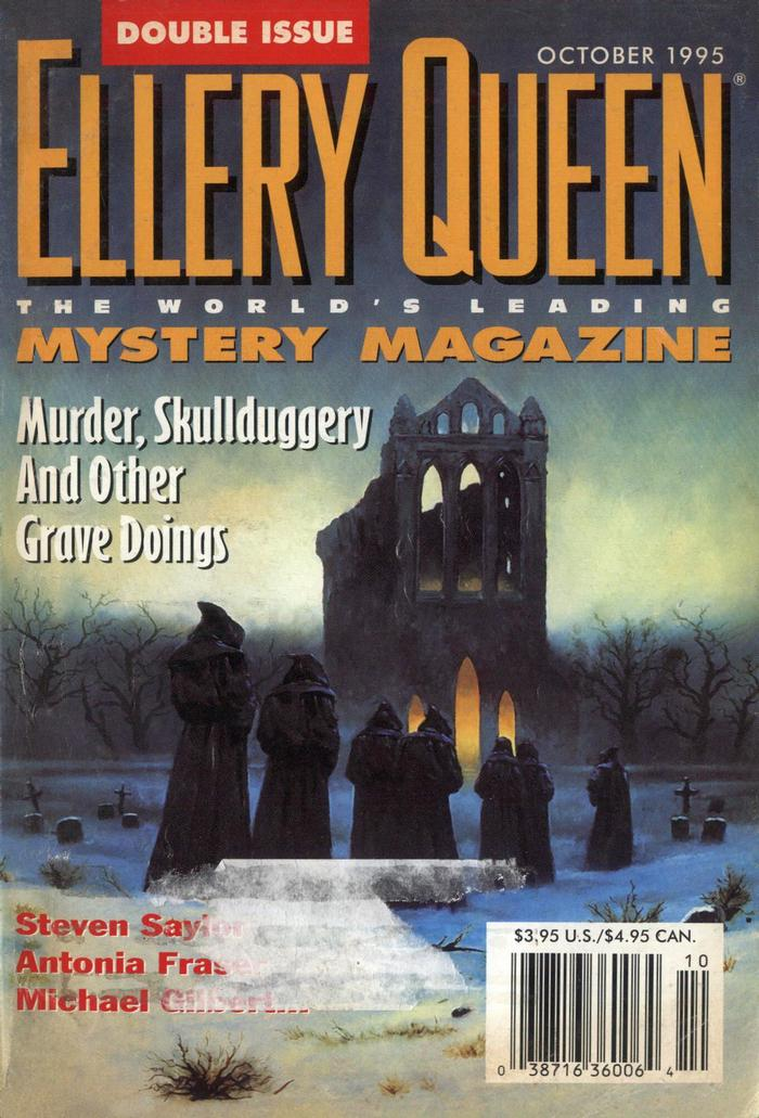 обложка книги Ellery Queen's Mystery Magazine. Vol. 106, No. 4 & 5. Whole No. 648 & 649, October 1995
