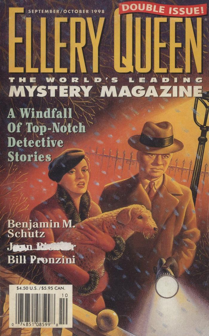обложка книги Ellery Queen's Mystery Magazine. Vol. 112, No. 3 & 4. Whole No. 684 & 685, September/October 1998