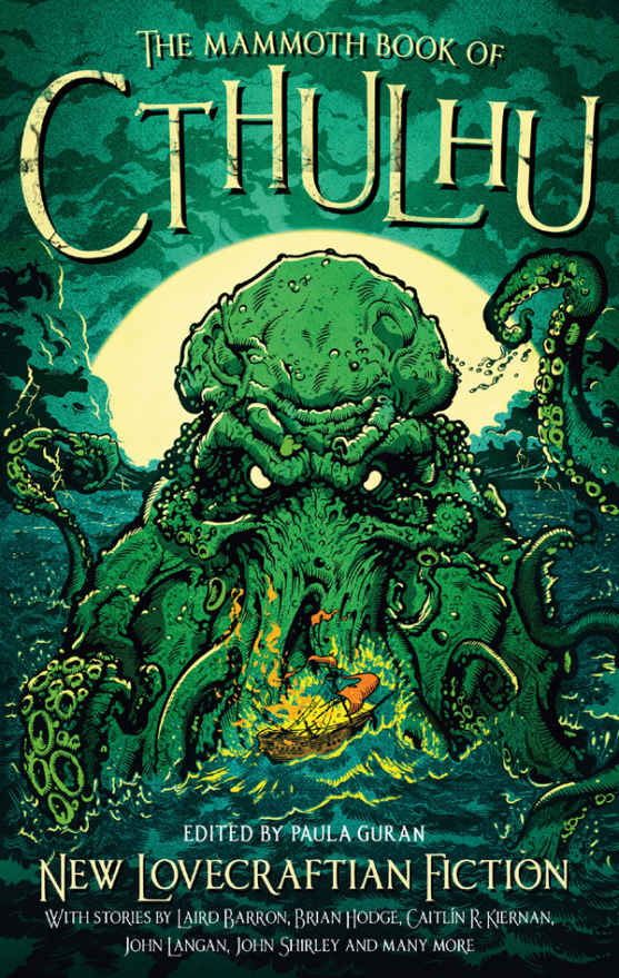 обложка книги The Mammoth Book of Cthulhu