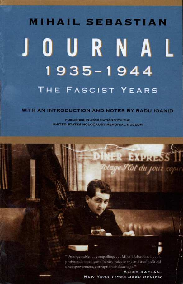 обложка книги Journal 1935–1944: The Fascist Years