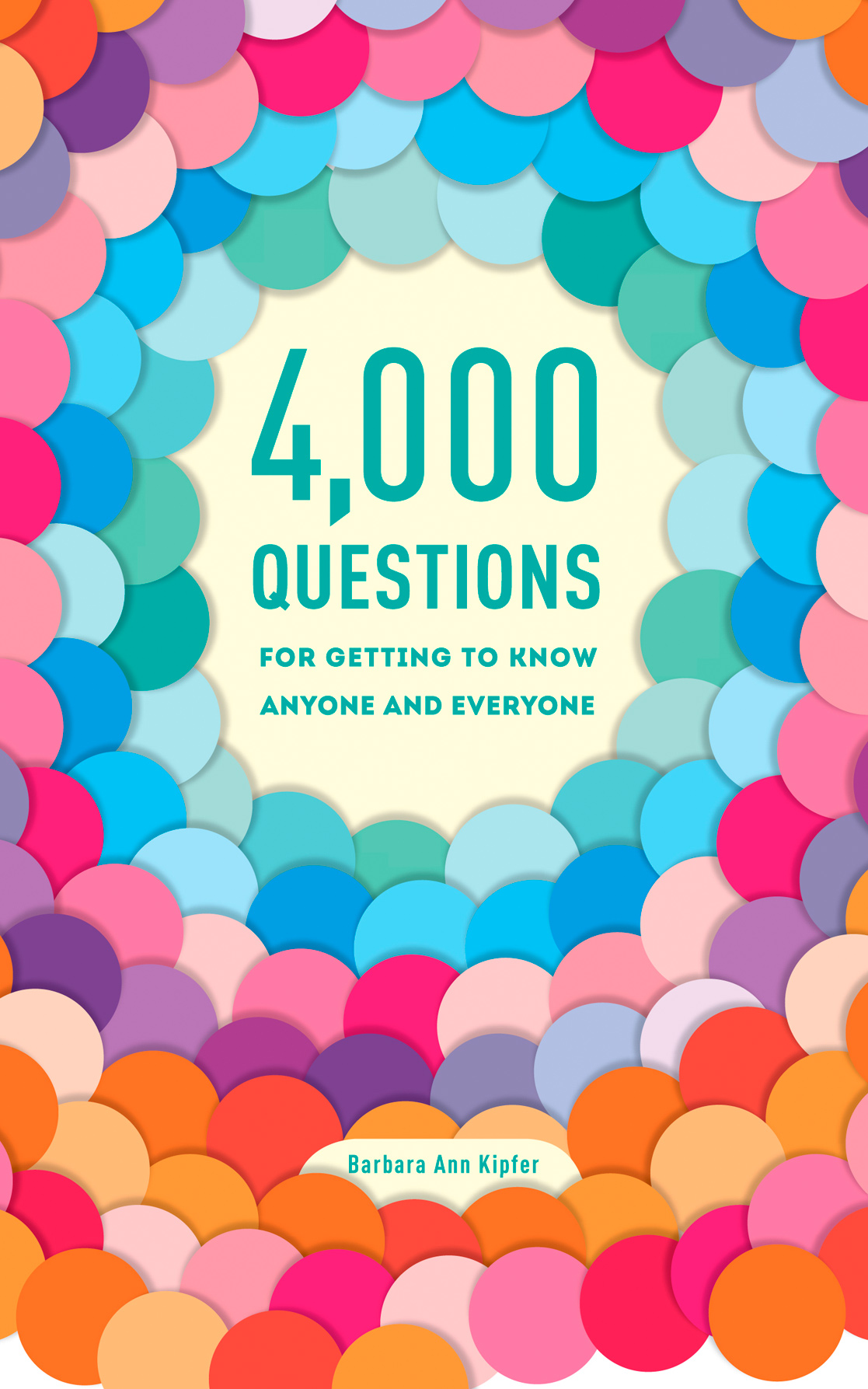 обложка книги 4,000 Questions for Getting to Know Anyone and Everyone, 2nd Edition