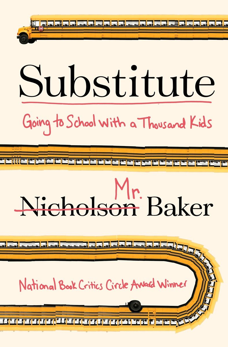 обложка книги Substitute: Going to School With a Thousand Kids