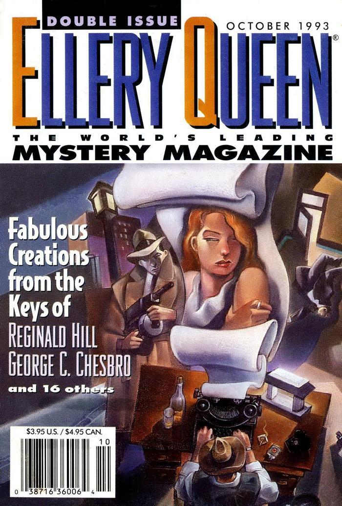 обложка книги Ellery Queen's Mystery Magazine. Vol. 102, No. 4 & 5. Whole No. 618 & 619, October 1993