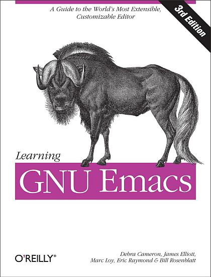 обложка книги Learning GNU Emacs, 3rd Edition