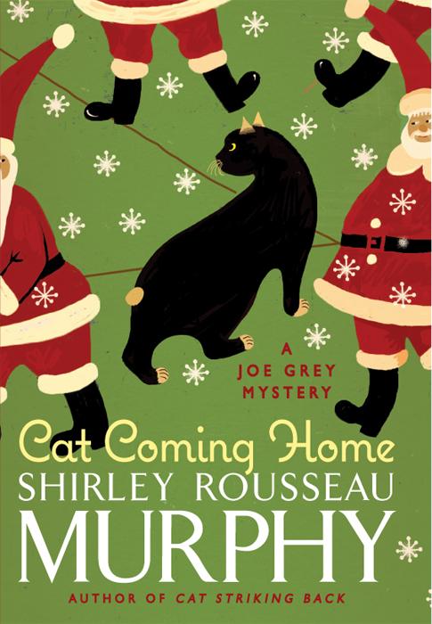 обложка книги Murphy_Shirley_Rousseau_Cat_Coming_Home_BookFi