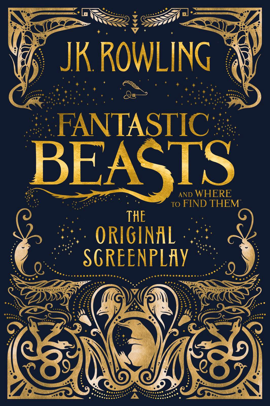 обложка книги Fantastic Beasts and Where to Find Them