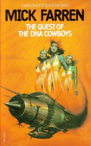 обложка книги The Quest of the DNA Cowboys