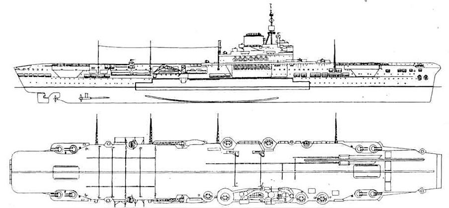Изображение к книге Авианосцы мира 1939-1945 (Великобритания, США, СССР)