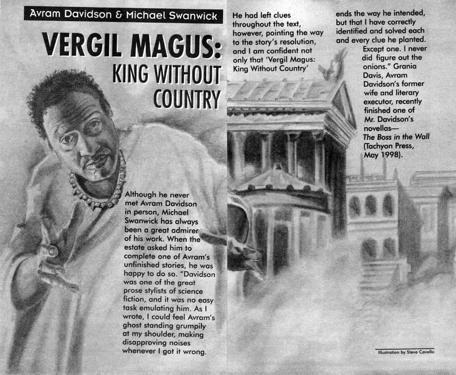 Изображение к книге Vergil Magus: King Without Country