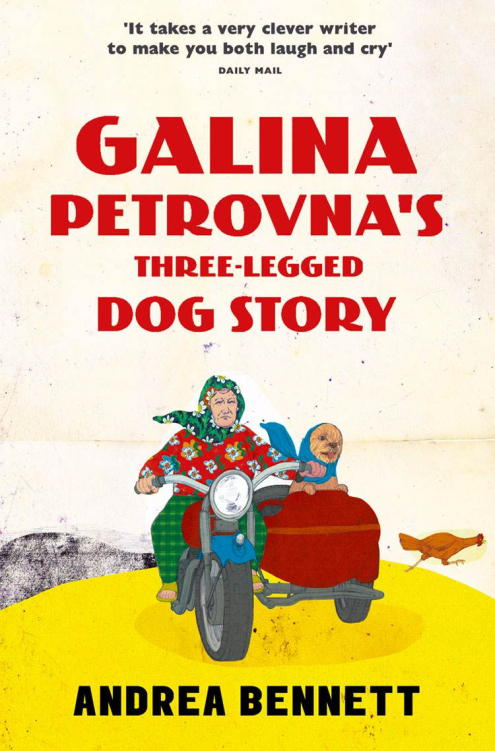 обложка книги Galina Petrovna's Three-Legged Dog Story