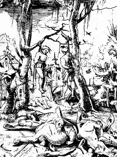 обложка книги О «тридцатилетних войнах» на историческом ландшафте