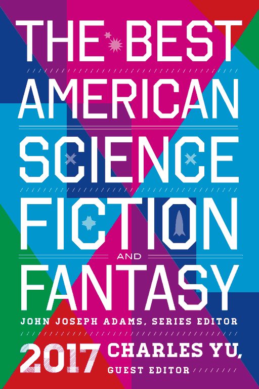 обложка книги The Best American Science Fiction and Fantasy 2017