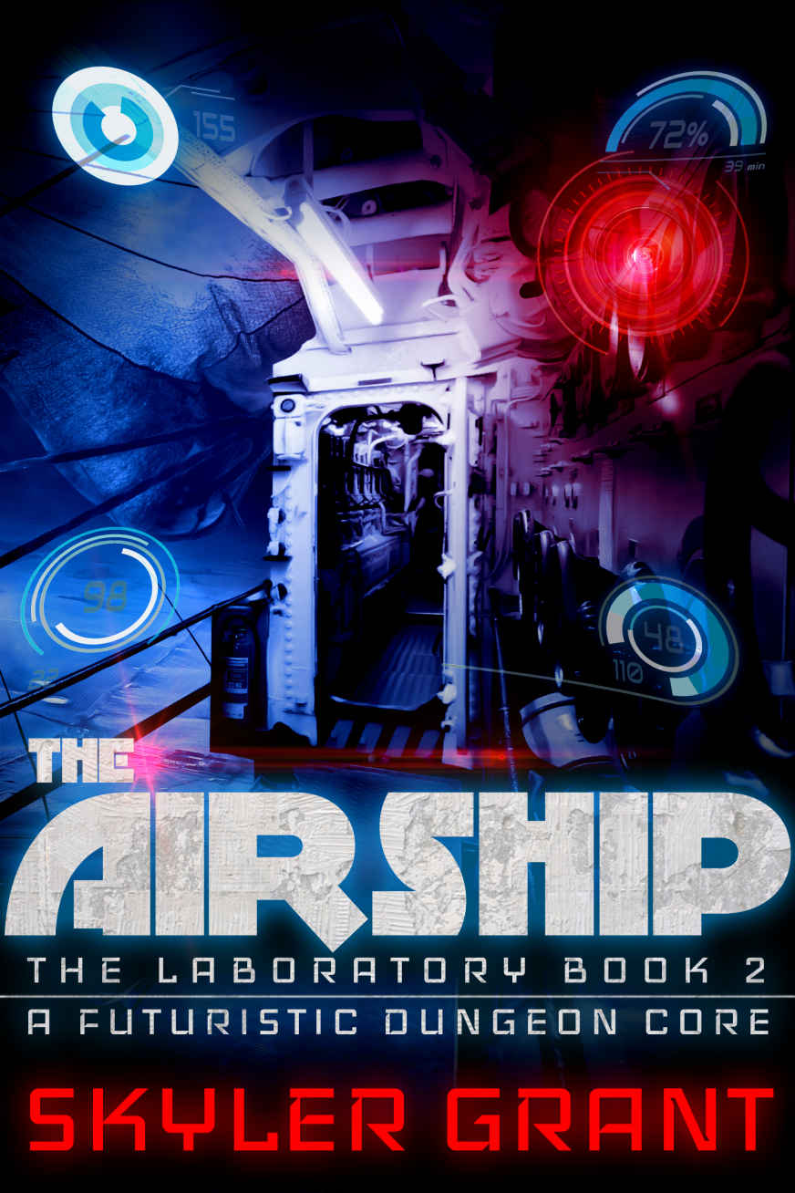 обложка книги The Airship: A Futuristic Dungeon Core (The Laboratory Book 2)