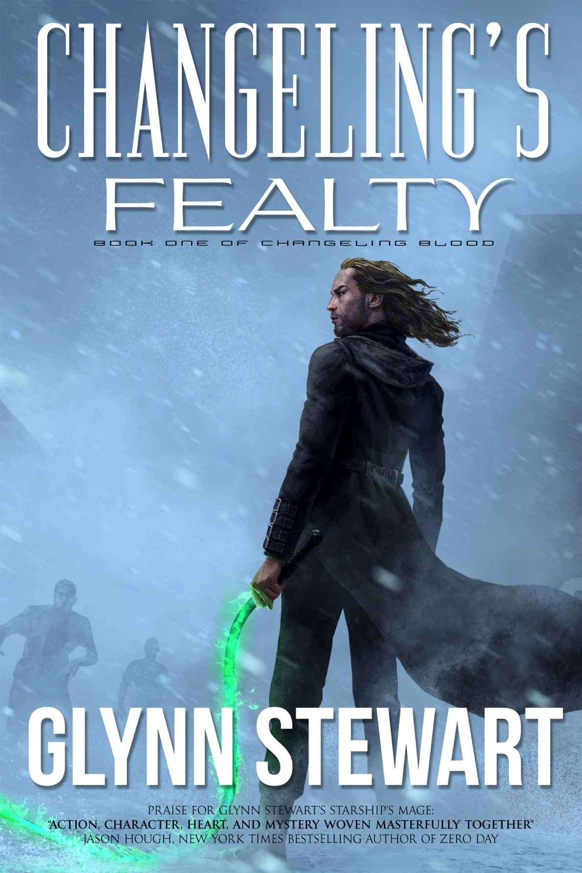 обложка книги Changeling's Fealty (Changeling Blood Book 1)