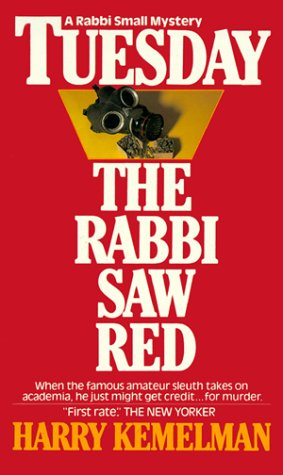 обложка книги Tuesday The Rabbi Saw Red