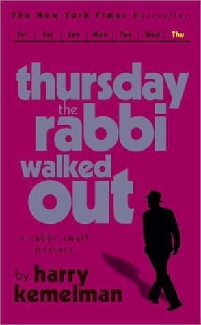 обложка книги Thursday The Rabbi Walked Out